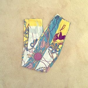 Pants - Colorful Patterned Leggings