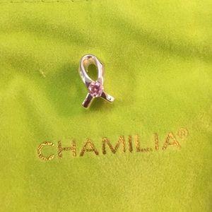 Chamilia Jewelry - New !  breast cancer awareness ribbon charm