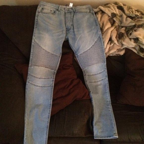 02b16b4c89f0e H&M Jeans   Hm Biker   Poshmark