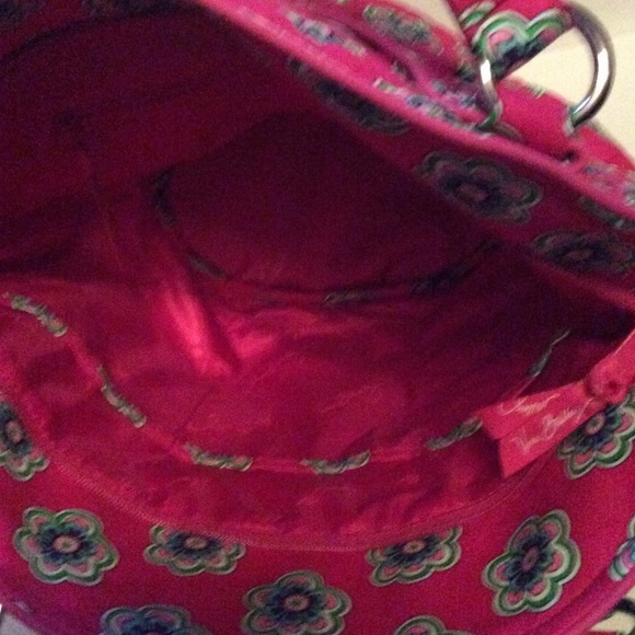 Vera Bradley Bags - Vera Bradley Glenna Satchel Pink Swirl Flowers NWT