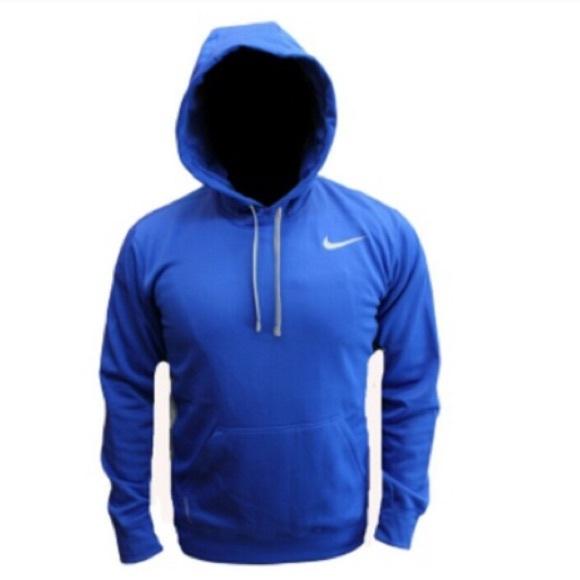 62% off Nike Sweaters - ✅Dark Blue Nike Hoodie Therma - Fit ...