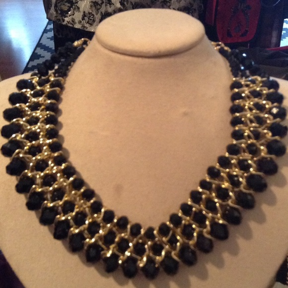 65 off Jewelry Black and gold costume jewelry from Fias fab