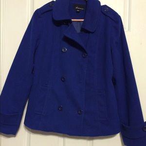 Pea coat style coat