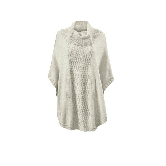 50% off CAbi Sweaters - Cowl Neck Poncho from Jennifer's closet on ...