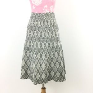 Gracia Dresses & Skirts - 🌂Diamond print high waisted skirt