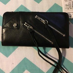 Rebecca Minkoff Handbags - Rebecca Minkoff Black Snap Wallet