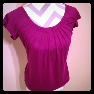 The Limited Purple Top