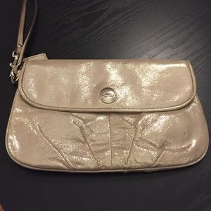 Coach Sparkle Large Wristlet