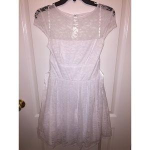 Beautiful, lace white dress