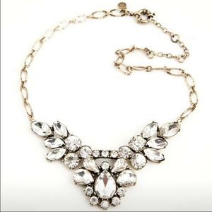 NEWJ. Crew Crystals Statement Necklace