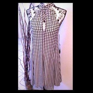 NWT! Nordstrom brand halter A-line dress
