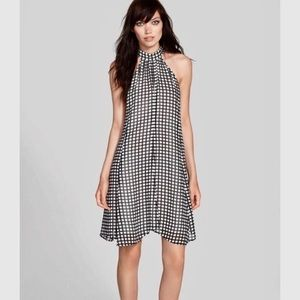 NWT! Nordstrom Tildon halter A-line swing dress