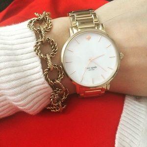 SALEBeautiful Antique rope chain link bracelet