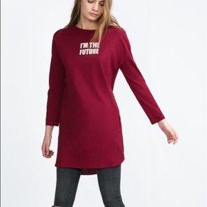 Zara long sleeves top
