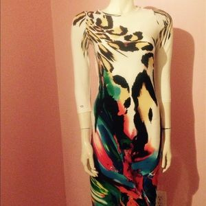 Cool..yet classy multicolored party dress..trendy