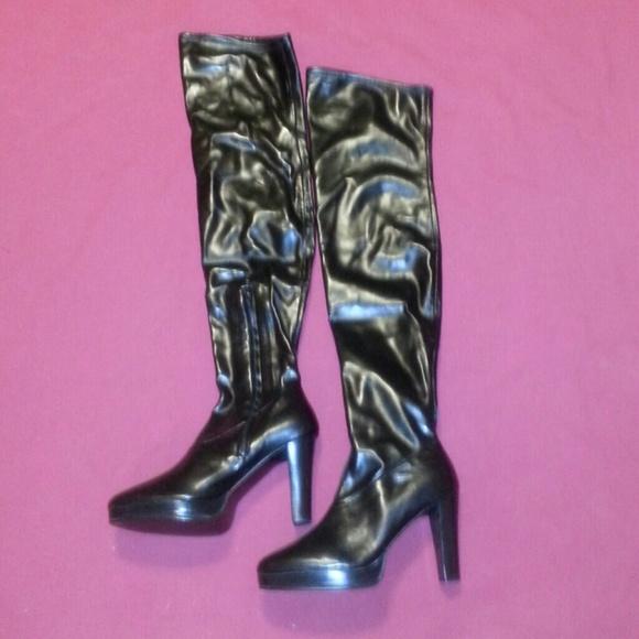 84 colin stuart shoes colin stuart thigh high boot