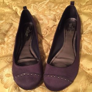 American Eagle Outfitters Shoes - American Eagle Satin Flats.
