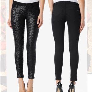 "Hudson Jeans Denim - Hudson Vice Versa ""Krista"" Super Skinny Jean."