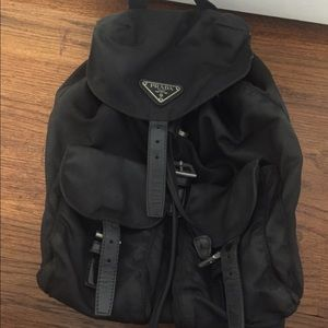 Black Prada backpack on Poshmark