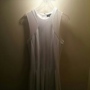 NWOT The Most Perfect Sporty White Pleated Dress