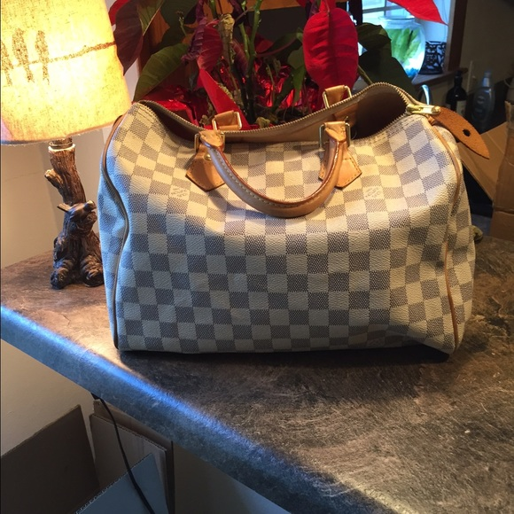 Louis Vuitton Speedy 35 Damier Canvas
