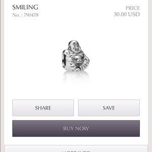3f08f6cb2 Pandora Accessories | Buddha Queen Crown Shell With Pearl | Poshmark
