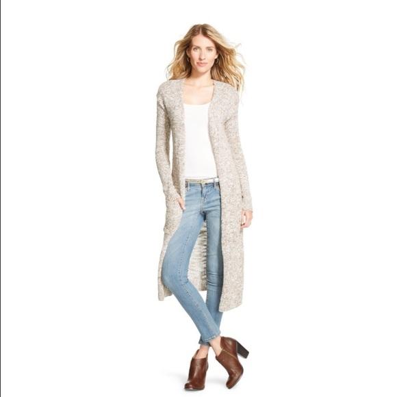66% off Merona Sweaters - Target Merona Duster Maxi Cardigan ...