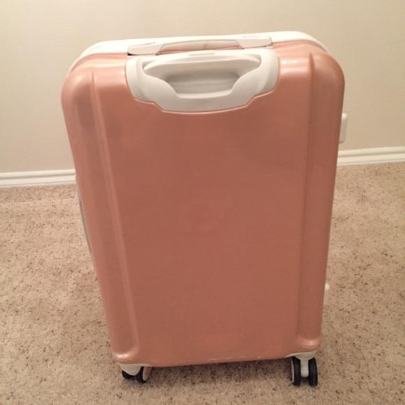 28% off Samsonite Handbags - Samsonite baby pink travel luggage ...
