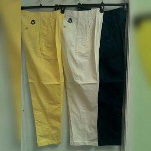 IZOD Khaki Chino Golf Tennis Pants