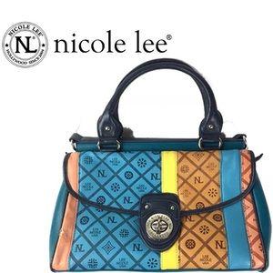 Nicole Lee Bags - Nicole Lee Adela Satchel shoulder bag Teal Blue