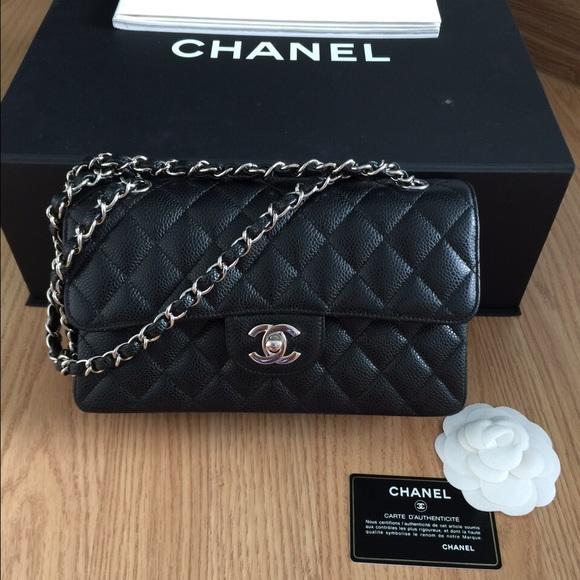 fe6eeb851ab06e CHANEL Bags   Sold Authentic Classic Flap Small 9shw   Poshmark