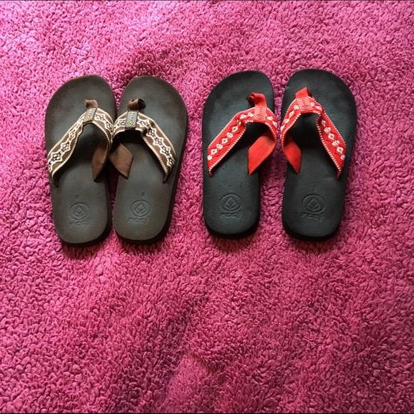 743cb8a1 Brown Classic Reef sandals. M_56856bb177adead0f404a00d