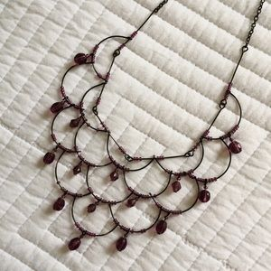 Jewelry - SOLD | Lavender Downton Abbey–Style Necklace