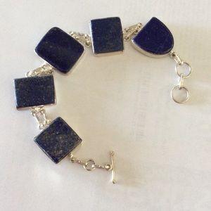  Host Pick! SALE-Sterling Blue Lapis Bracelet 