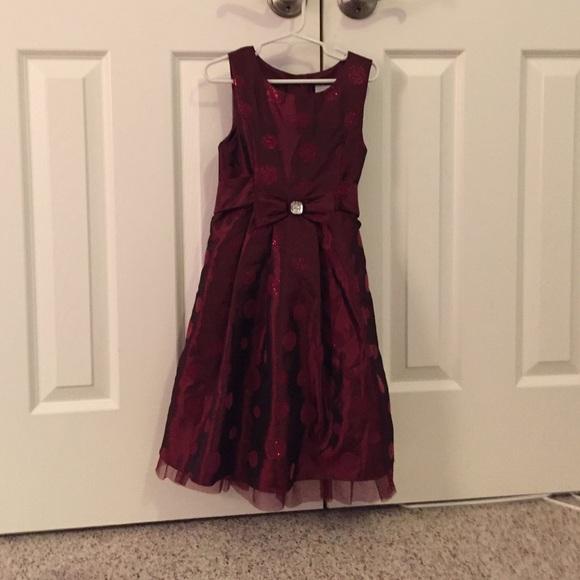 beautiful christmas dress kids girls size 6