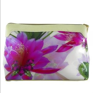 Ted Baker Bags - Ted Baker Pink Floral makeup bag cosmetics case