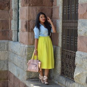 Lord & Taylor Dresses & Skirts - FLASH SALE!!!! Neon Midi skirt