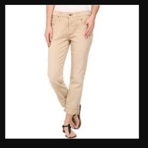 7 for all mankind light tan jeans
