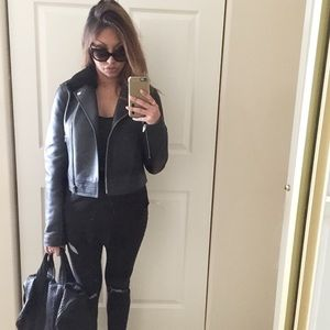Alexander Wang Leather Jacket.