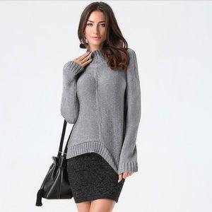 Bebe metallic sweater