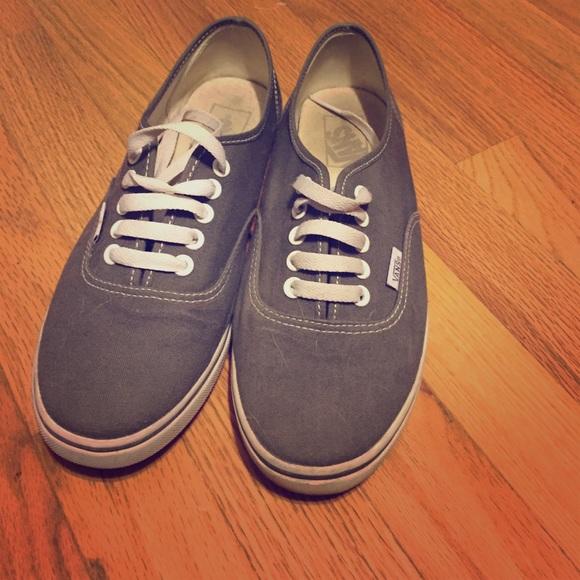Vans Shoes | Gray 85 | Poshmark