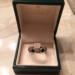 David Yurman Jewelry David Yurman Black Onyx Diamond Eternity Ring