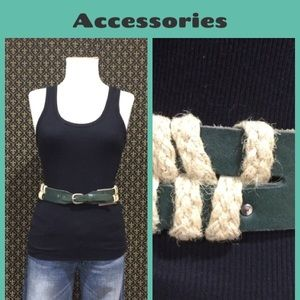 "Anthropologie Accessories - NWTs Anthro ""Summer Grasses Belt"""