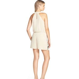 Adelyn Rae Other - Embellished Georgette Romper by Adelyn Rae
