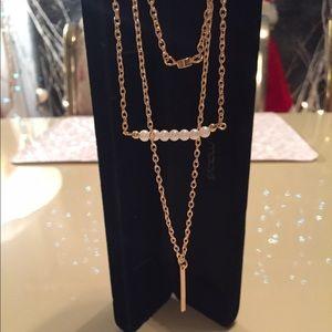 Triple layer necklaces