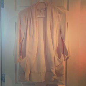 Lauren Conrad cream blazer