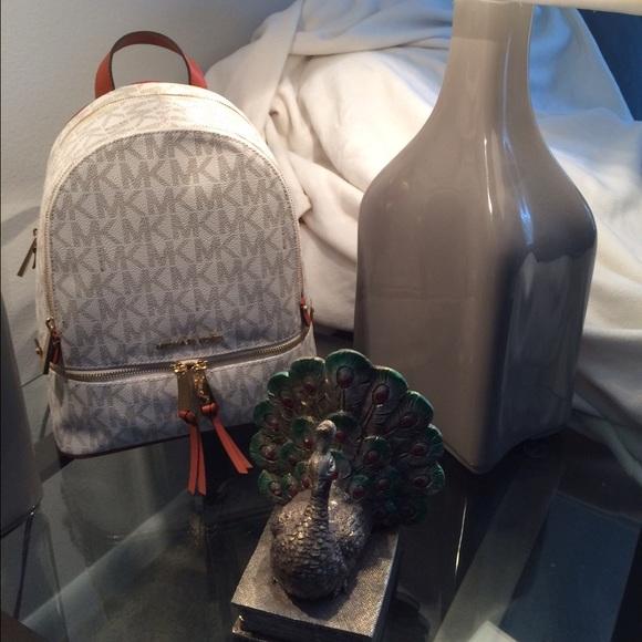 cf5c2a99e285 Michael Kors Bags | Vanilla Rhea Backpack | Poshmark