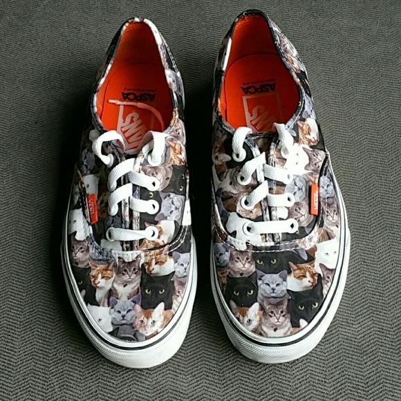 cat vans shoes