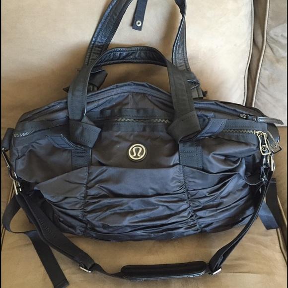 4e4fe2fd24b6 lululemon athletica Handbags - Lululemon Duffel Overnight Gym Bag