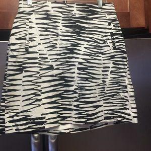 Banana Republic Dresses & Skirts - Zebra pencil skirt